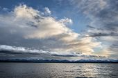 Lake With Clouds