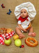 Baby Boy Cook