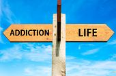 Addiction and Life signs