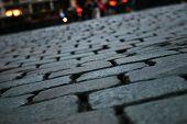 Close up of pavement