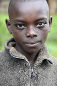 Portrait Of The African Boy.