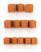 Wood Cube