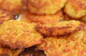 Potato Latkes - Hanukkah Jewish Holiday Food