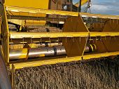 Harvester-thresher details two
