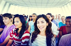picture of seminar  - Students Audience Seminar Listening Conference Gathering Concept - JPG