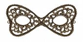 pic of masquerade mask  - Masquerade eye mask made of metal - JPG