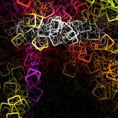 stock photo of fantastic  - Fantastic abstract futuristic technology background design illustration - JPG