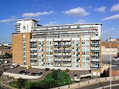 image of public housing  - Public council housing apartments in London - JPG