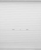stock photo of roller shutter door  - White metal roller door shutter background and texture - JPG