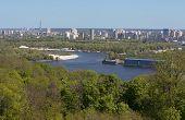 image of kiev  - Beautiful view of Kiev river DniproUkraine photo - JPG