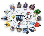 picture of revenue  - Sale Sales Selling Finance Revenue Money Income Payment Concept - JPG