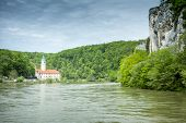 pic of bavaria  - An image of the beautiful monastery Weltenburg in Bavaria Germany - JPG