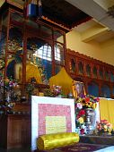 The temple of Tibetan Buddhism