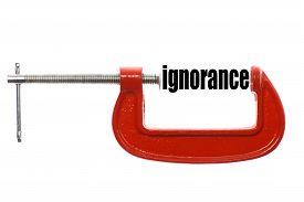 stock photo of ignore  - The word  - JPG