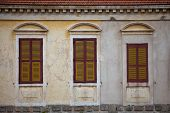 Three Traditional Greek Windows