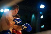 Muay Thai Boxing Hook Sweat Flying