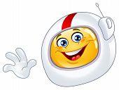 Astronaut Emoticon