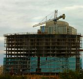 Office Building Under Construction 2 poster
