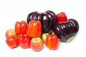 Ripe Vegetables And Fruits