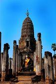 The Grand Hall of Wat Maha That Sukhothai