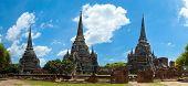 Three Towers, Ayutthaya