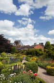 The garden of Nash's house, Stratford-upon-Avon. This house was bought by William Shakespeare for hi