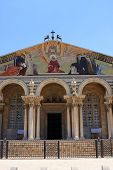 picture of gethsemane  - The Church of All Nations or Basilica of the Agony - JPG