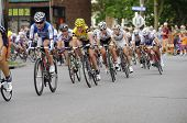 Armstrong in Pack at Uptown Criterium