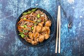 Asian Style Noodles poster