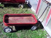 Red Wagon Metal