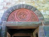 Arched Stone Doorway Architecture