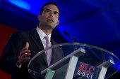 NEW ORLEANS, LA - JUNE 18: George P. Bush, son of former Florida Gov. Jeb Bush, addresses the Republ
