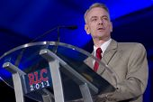 NEW ORLEANS, LA - JUNE 18: Steve Russell, author of We Got Him!, addresses the Republican Leadership