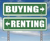 rent or buy mortgage for bank loan for home ownership renting or buying a house a flat building or p poster