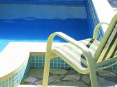 Chair By The Pool
