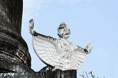 Garuda At Temples In Thailand