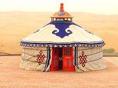 A Mongolian Yurt