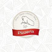Menu design pizzeria