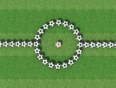 Virtuelle Fußball