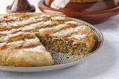 Fresco al horno Pastilla marroquí