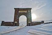Eingang des Yellowstone-Nord