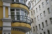 Moscow, Office Building, Balcony