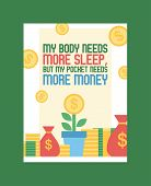 Money Vector Piggy Bank Pig Box Financial Bank Or Money-box With Investment Savings And Coins Backdr poster