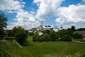 Convent In Russia, Sergiev Posad (Series Landmarks And Church) poster