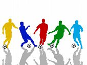 Color Soccer Player
