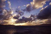 Sunset in Tortola British Virgin Isles
