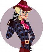 fashionable detective