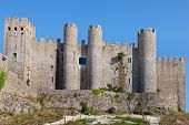 Obidos Castle, Estremadura, Portugal, Europe.