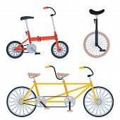Bike Sport Bicycles Transport Style Old Ride Vehicle Summer Transportation Illustration Hipster Roma poster