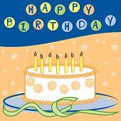 Happy Birthday - Bright Colors